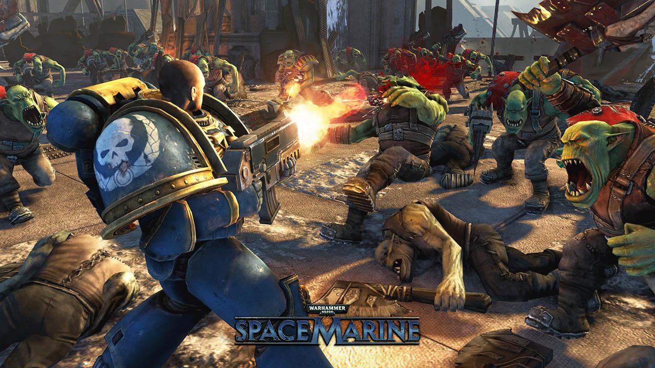 Warhammer 40,000: Space Marine1