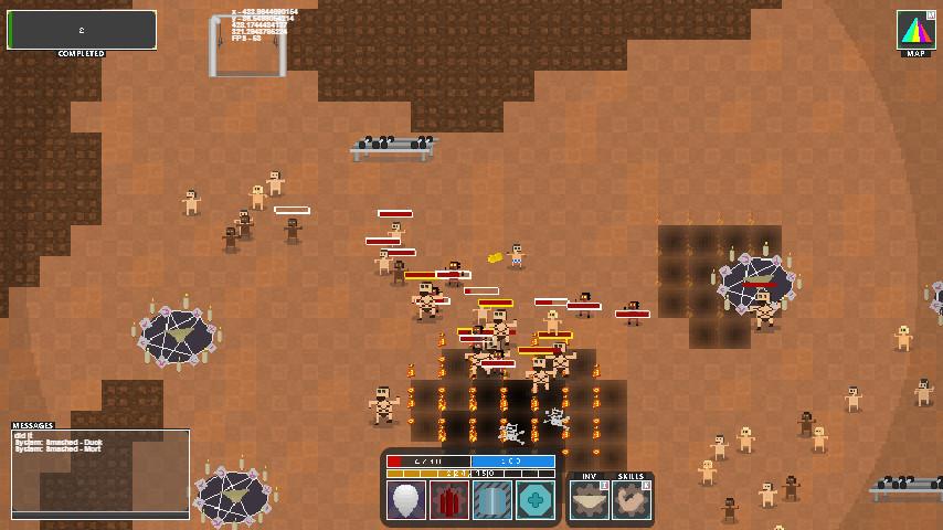 Deep Dungeon: Gym3