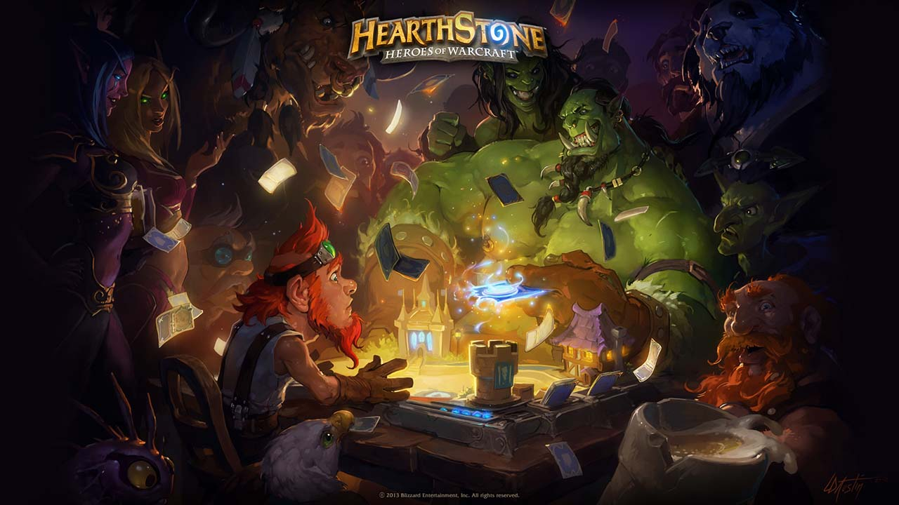 Hearthstone Booster Pack (Набор карт)0