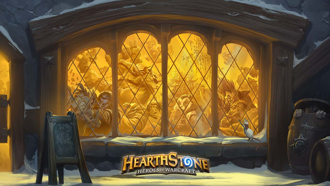Hearthstone Booster Pack (Набор карт)4