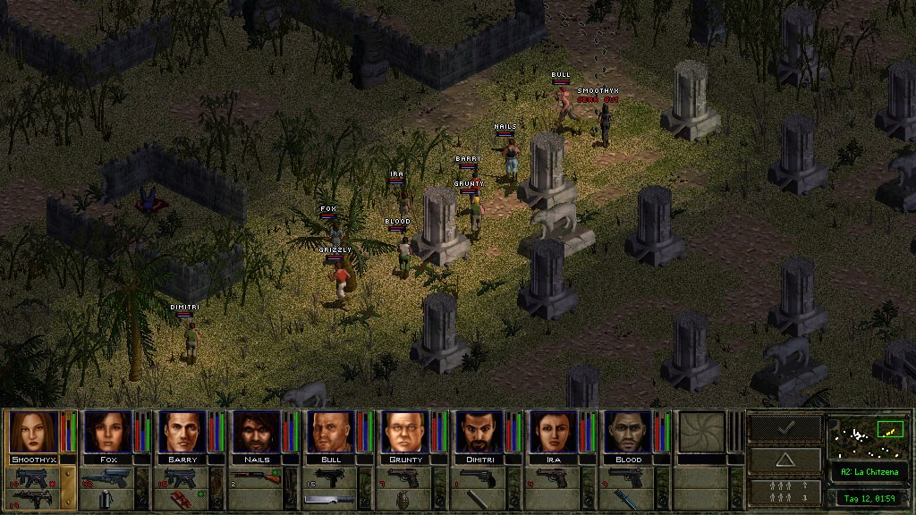Jagged Alliance 2 - Wildfire0