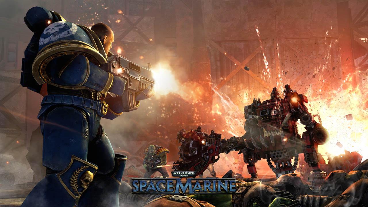 Warhammer 40,000: Space Marine4