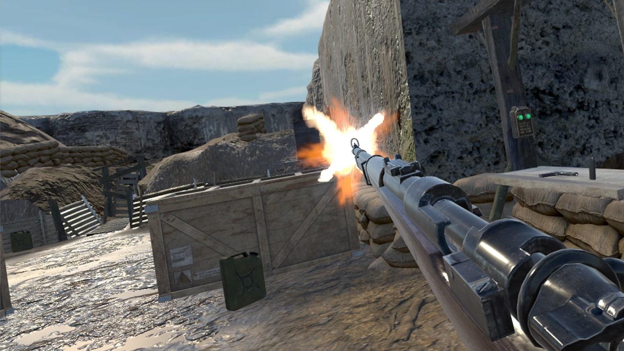 WW2 Zombie Range VR0