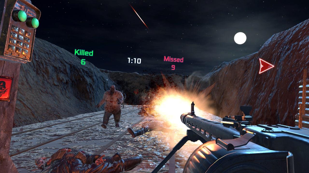 WW2 Zombie Range VR4