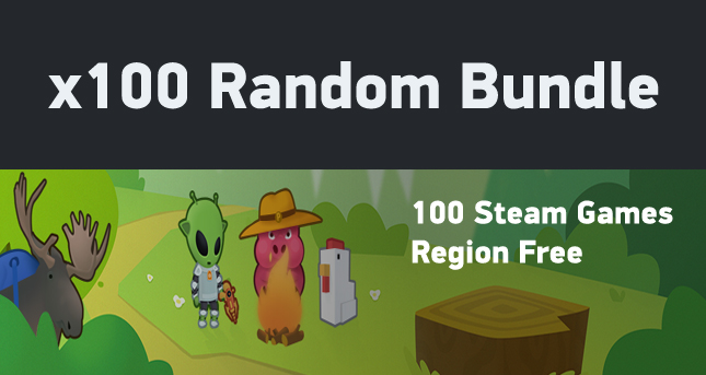 x100 Random (100 different Steam games)