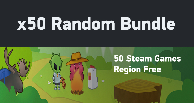 x50 Random (50 different Steam games)